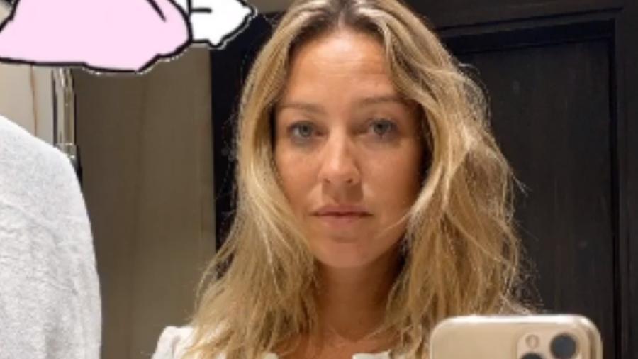"""Luana Piovani ao acordar: """"Adoro esse cabelo baguncê"""" - Reprodução/Instagram"""