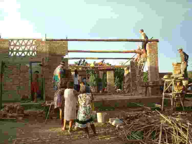 Obras de construção do projeto A Gente Transforma - Tatiana Cardeal/Divulgação - Tatiana Cardeal/Divulgação