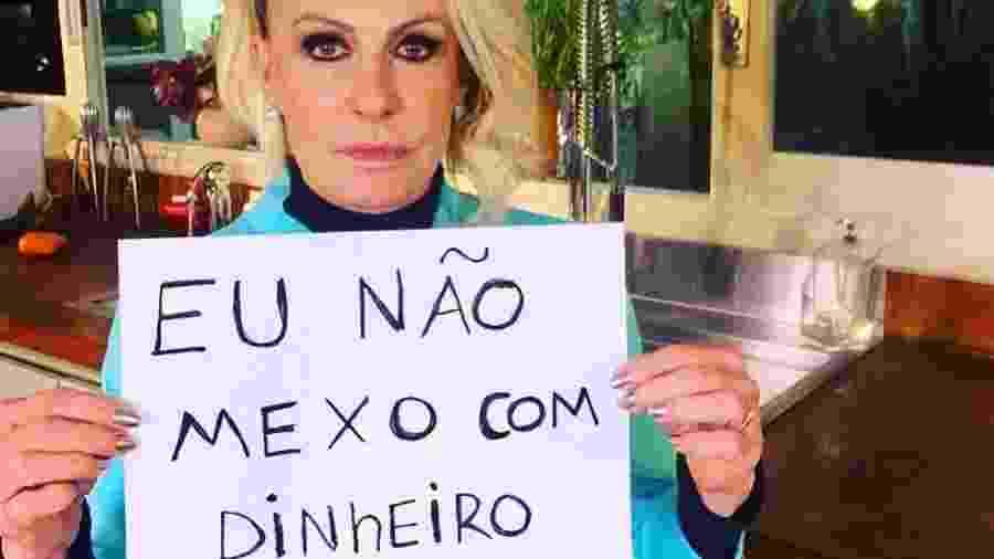 Ana Maria Braga falou sobre tema nas redes sociais - Reprodução/Instagram @anamaria16
