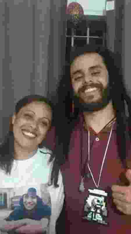 Jah Lexe e mãe - Arquivo Pessoal - Arquivo Pessoal