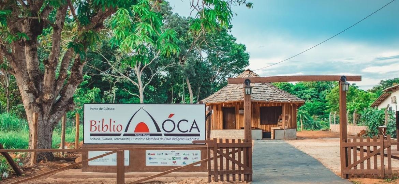 BibliÓca no Mato Grosso.  - Davison Rafael/Divulgação