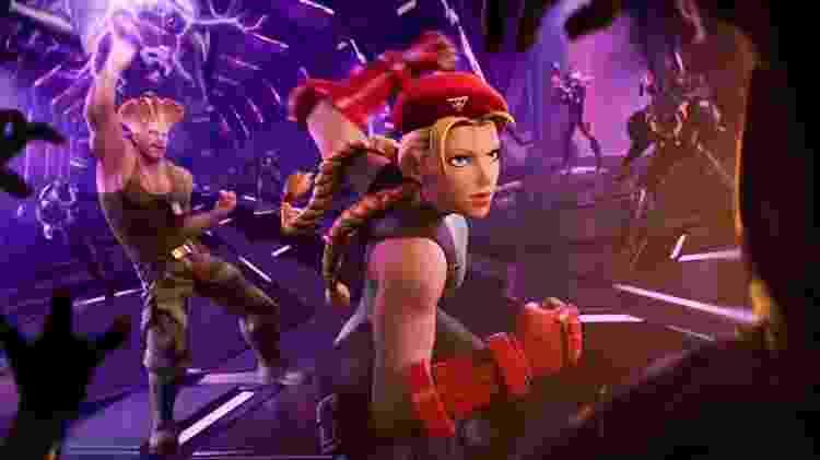 Fortnite Street Fighter - Divulgação/EpicGames - Divulgação/EpicGames