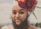 Ativista barbada que tem ovário policístico posa como noiva em ensaio - Urban Bridesmaid Photography