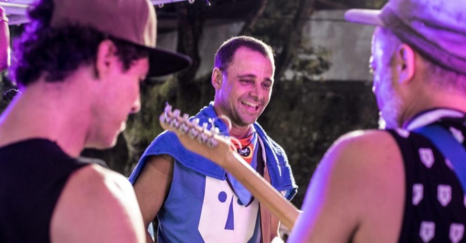 A guitarra baiana é a marca registrada nos shows