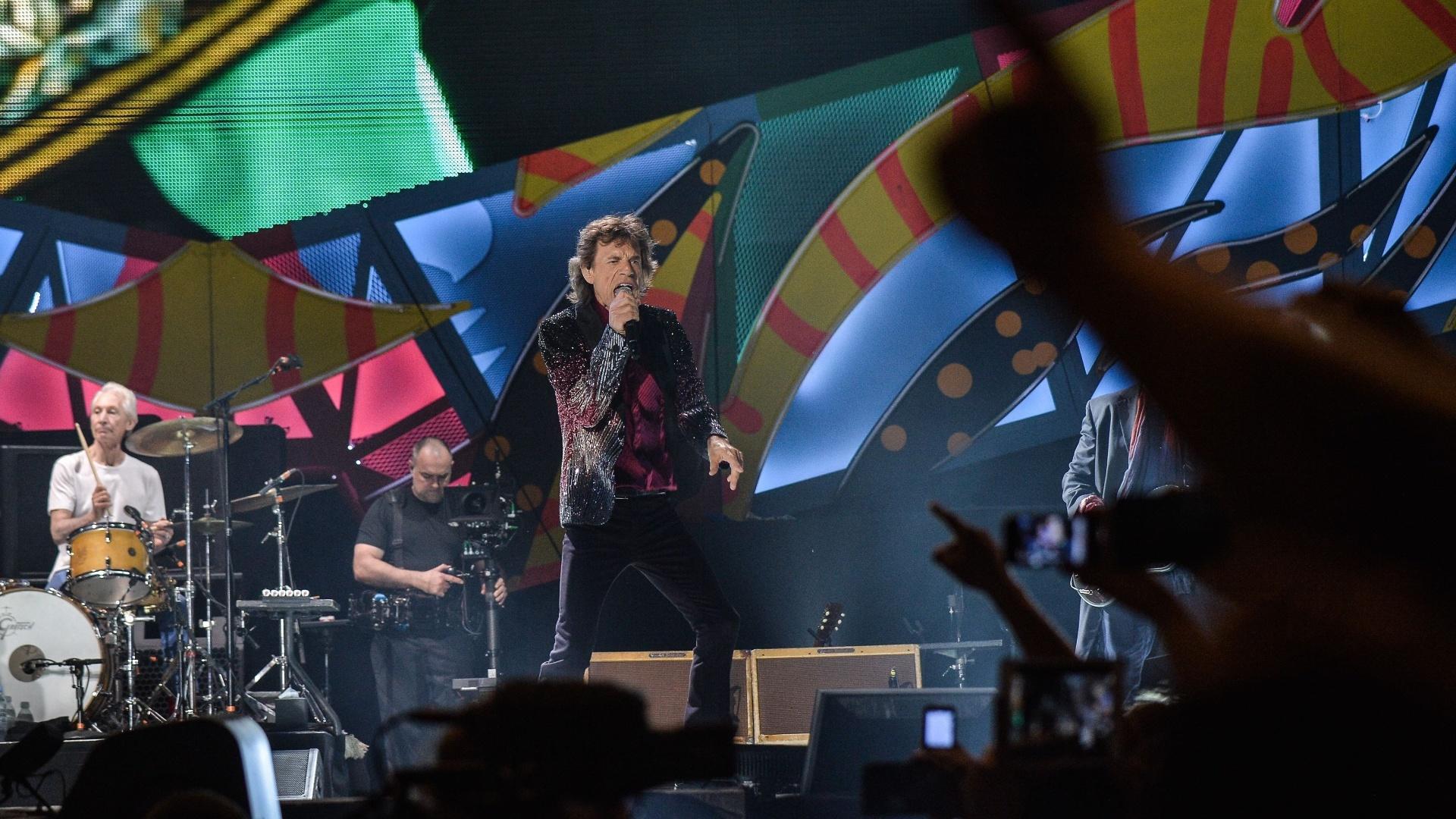 25.mar.2016 - Pela primeira vez na história, os Rolling Stones se apresentam em Cuba