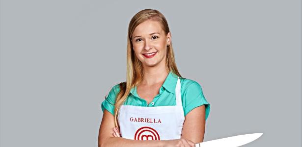"""A engenheira Gabriella Palinkas é  a quinta participante elimanda da terceira temporada do """"MasterChef"""" - Divulgação/Band"""
