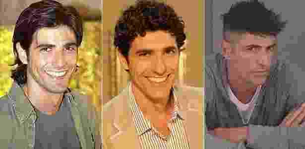 Os visuais de Gianecchini nas novelas - Reprodução/Gshow - Reprodução/Gshow