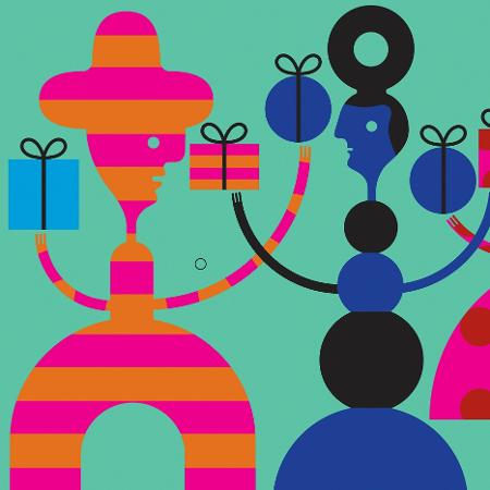 Ao escolher o presente de Natal, cientistas sociais alertam para não se esforçar demais e comprar o que a pessoa pediu ou dar para várias pessoas o mesmo mimo - Melinda Beck/The New York Times