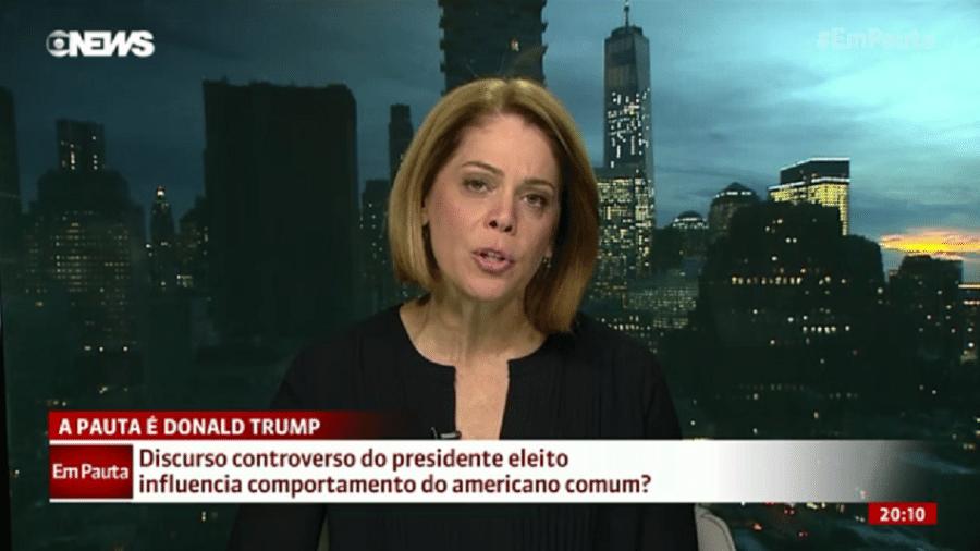 """Repórter da Globo diz que filho foi vítima de xenofobia nos EUA: """"Prenúncio da Era Trump"""" - Reprodução/Globo News"""