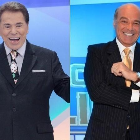 Silvio Santos, do SBT, e Marcelo de Carvalho, da RedeTV!, são sócios na Simba - Montagem/UOL