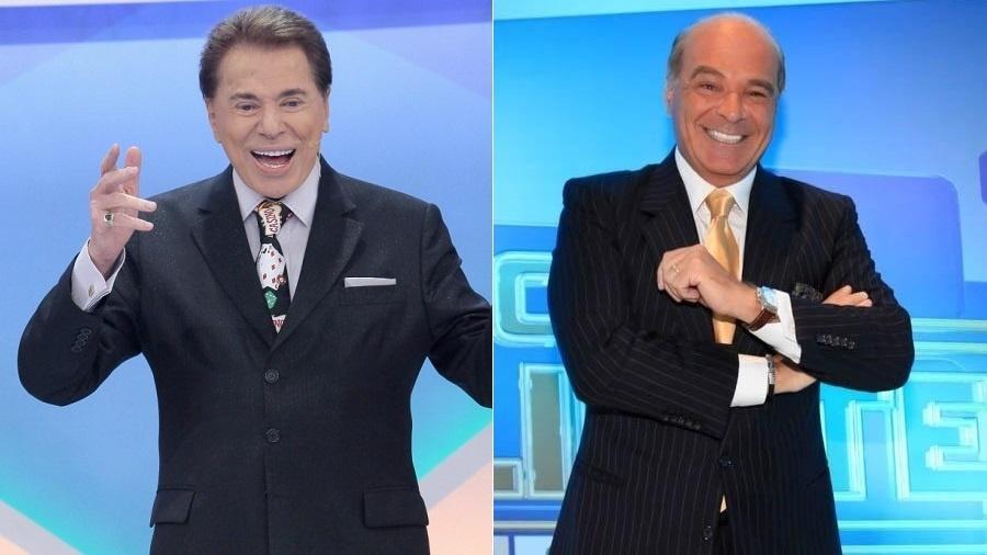 """Silvio Santos lançará """"Show do Milhão"""" no mesmo horário de """"O Céu É o Limite"""", de Marcelo de Carvalho - Montagem/UOL"""