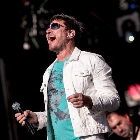 O vocalista do Duran Duran, Simon, em show de 2017, em São Paulo - Keiny Andrade/Folhapress