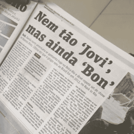 Bon Jovi - Reprodução/Facebook - Reprodução/Facebook