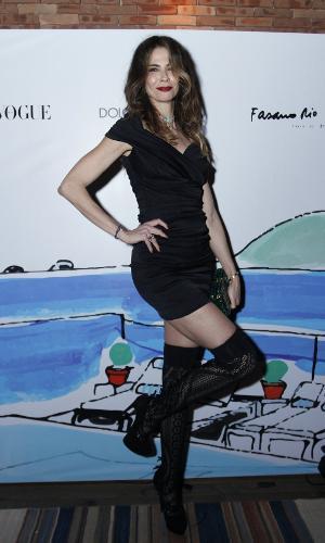 Festa da Vogue e Dolce & Gabbana - Luciana Gimenez