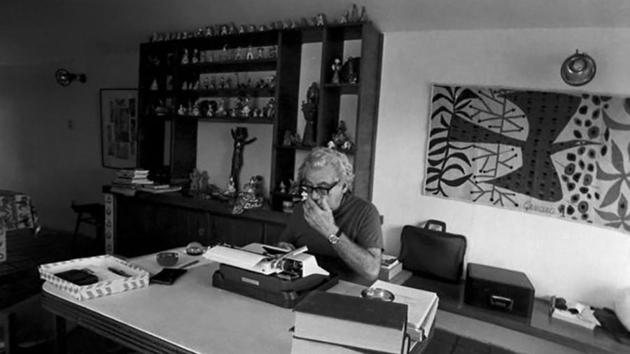 Mais de 90% dos livros condenados à fogueira em Salvador eram obras de Jorge Amado - Divulgação