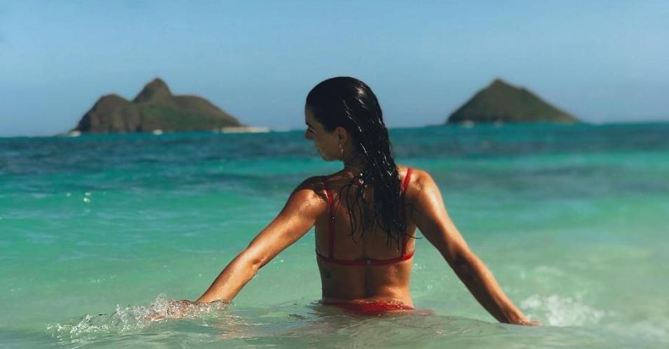 Isis Valverde no Havaí