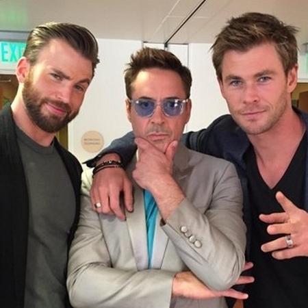 Chris Evans, Robert Downey Jr, e Chris Hemsworth protagonizaram 12 dos principais filmes da Marvel até aqui - Reprodução