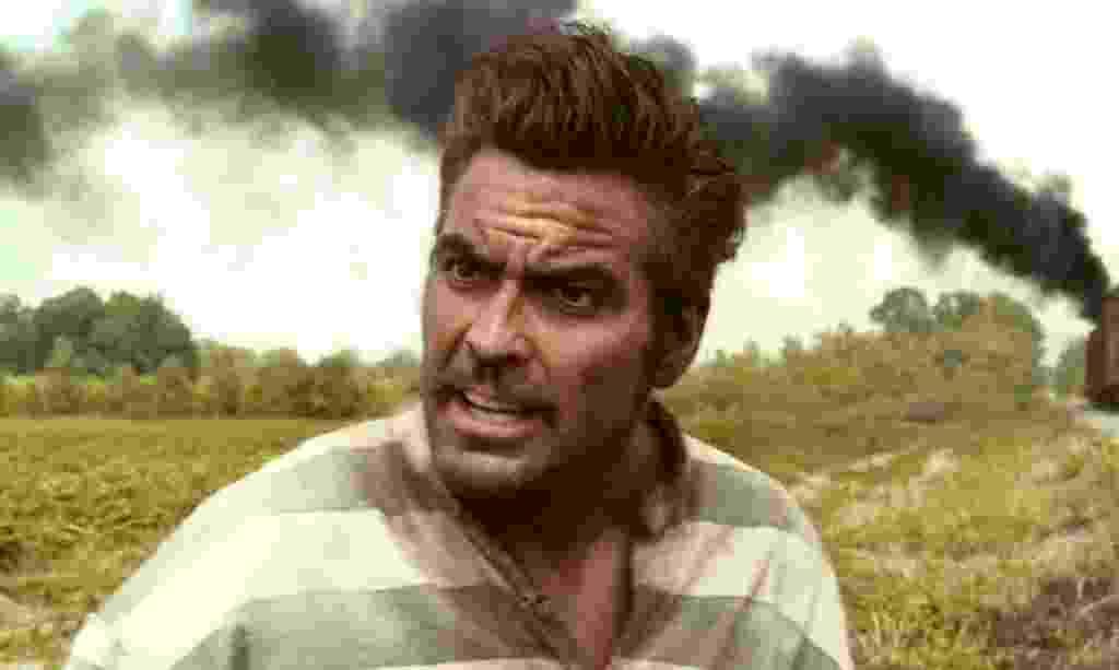 """George Clooney em cena de """"E Aí, Meu Irmão, Cadê Você?"""" (2000) - Divulgação"""