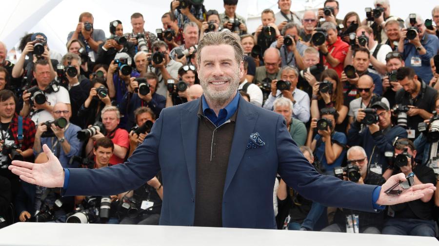 John Travolta posa para fotógrafos no Festival de Cannes - Regis Duvignau/Reuters