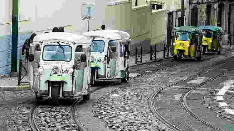 Que tal explorar Lisboa a bordo de tuc-tucs? - Ajay Suresh/www.flickr.com/photos/83136374@N05/34198293765 - Ajay Suresh/www.flickr.com/photos/83136374@N05/34198293765
