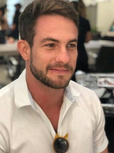 Daniel Adjuto,o  repórter-galã do SBT - Arquivo pessoal