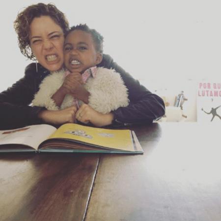 Leandra Leal e Julia - Reprodução/Instagram