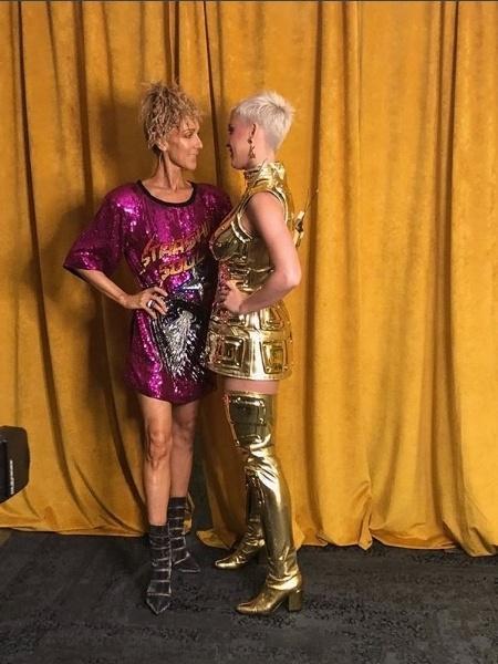 Celine Dion encontra Katy Perry com sapatos de Alexandre Birman - Reprodução/ Instagram