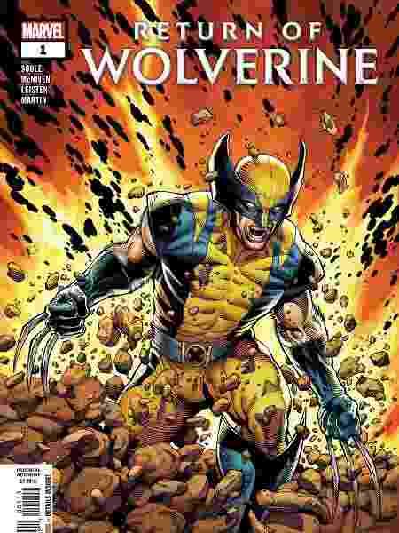 """Capa de """"Return of Wolverine #1"""" - Reprodução"""