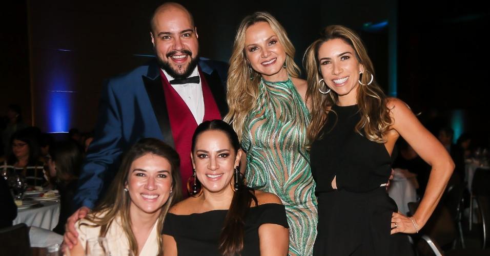 Thiago Abravanel, Eliana, Patricia, Silvia e Rebeca Abravanel
