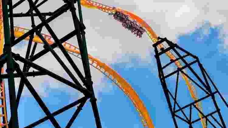 Projeção da montanha-russa Tigris, do Busch Gardens - Divulgação/Busch Gardens - Divulgação/Busch Gardens