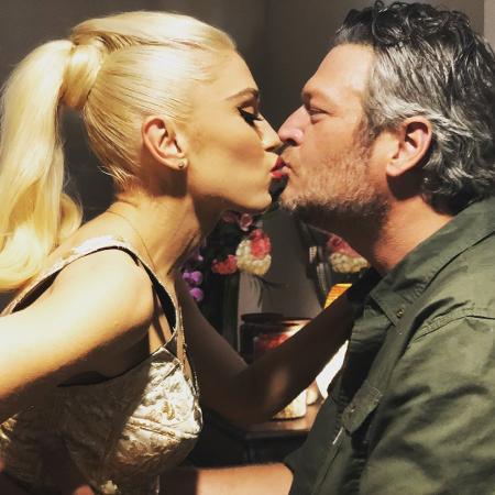 Gwen Stefani e Blake Shelton  - Reprodução/Instagram