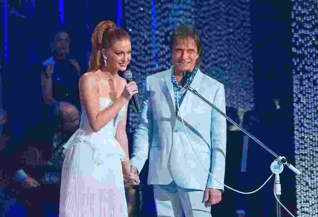 Marina Ruy Barbosa canta com Roberto Carlos no especial da Globo deste ano,que será exibido dia 21 na Globo - Reprodução/Instagram