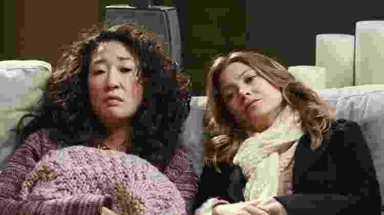 """Sanra Oh e Ellen Pompeo em """"Grey's Anatomy"""" - Divulgação - Divulgação"""