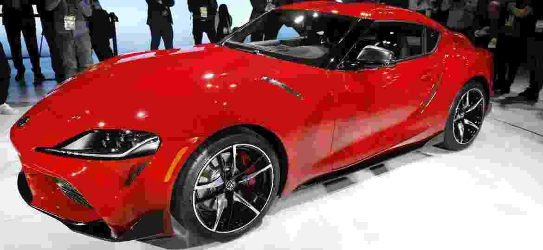 Toyota Supra 2020 divide motor, transmissão e plataforma com o BMW Z4; ambos são fabricados na Áustria - Bill Pugliano/Getty Images/AFP