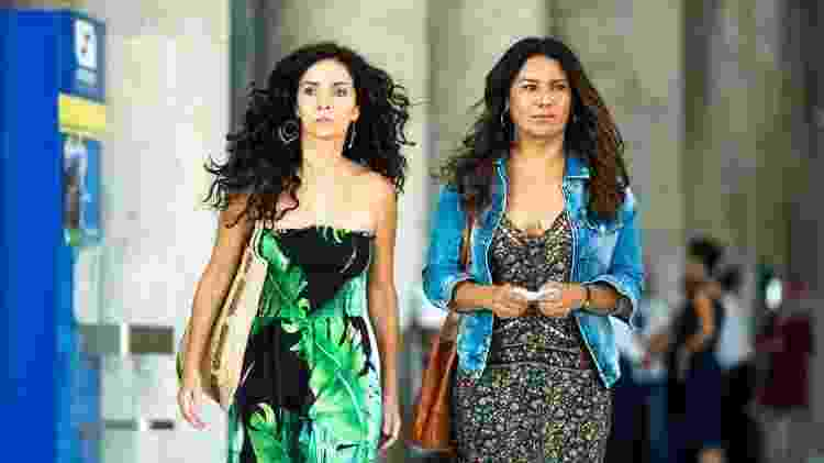Na novela de Izabel de Oliveira e Paula Amaral, Ohana (Janice) é irmã de Dira Paes (Janaína) - Divulgação/TV Globo
