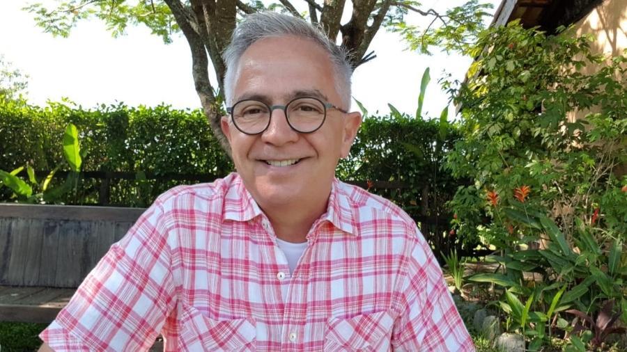 """Sérgio Cursino: """"vou bem, obrigado. E mais vivo do que nunca"""" - Arquivo pessoal"""