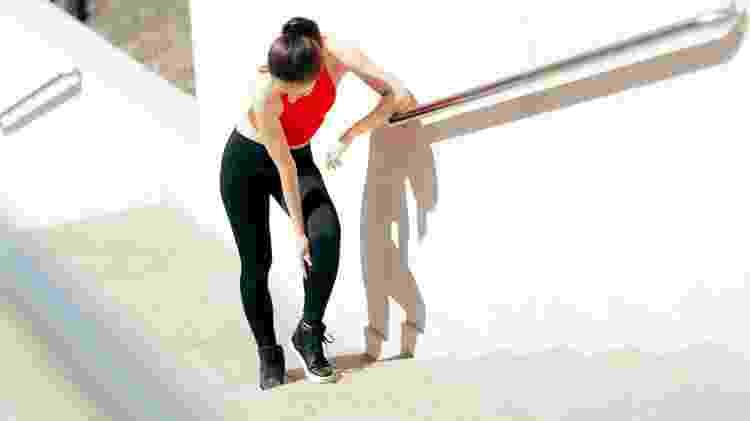 A dor muscular pós-treino costumar durar de 48 a 72 horas - iStock