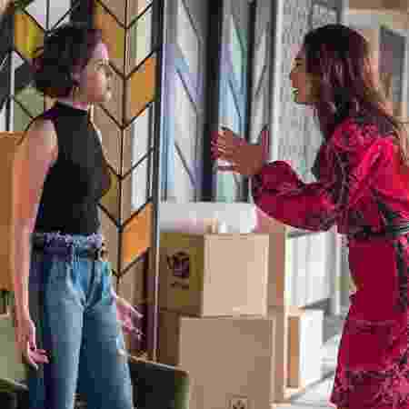 Josiane e Maria da Paz em novo confronto - Globo/Raquel Cunha