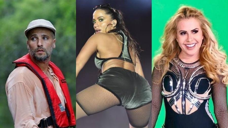 Alguns famosos dariam ótimo embaixadores do turismo - Reprodução/Instagram/Gabi de Moraes/AgNews/Reprodução/Instagram/Montagem UOL