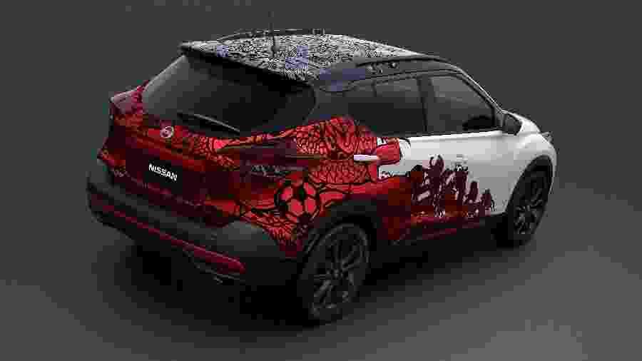Nissan Kicks conceito comemorativo de três anos - Divulgação