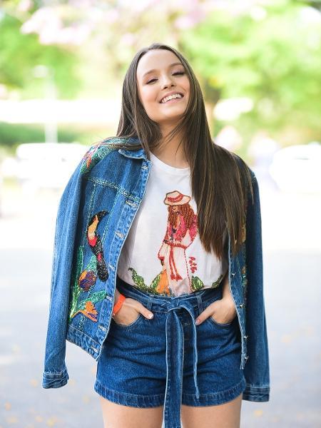 Larissa Manoela na SPFW - Leo Franco/AgNews