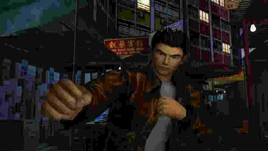 """""""Shenmue"""" marcou época no Dreamcast - Reprodução"""
