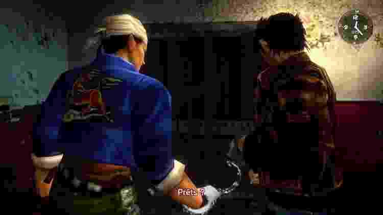 Ryo e Ren, unidos (literalmente) por algemas - Reprodução
