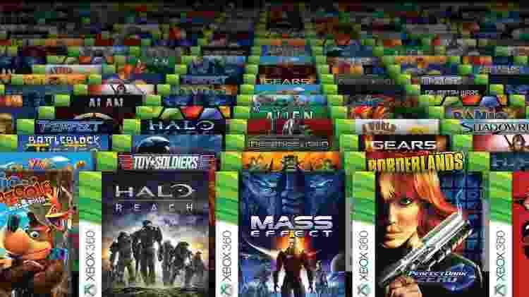 Jogos de Xbox 360, Xbox One e primeiro Xbox poderão ser jogados no Xbox Series X - Reprodução