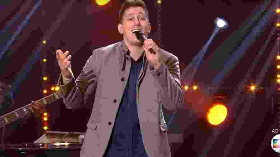 Jackson Follmann venceu o Popstar - Reprodução/Globo