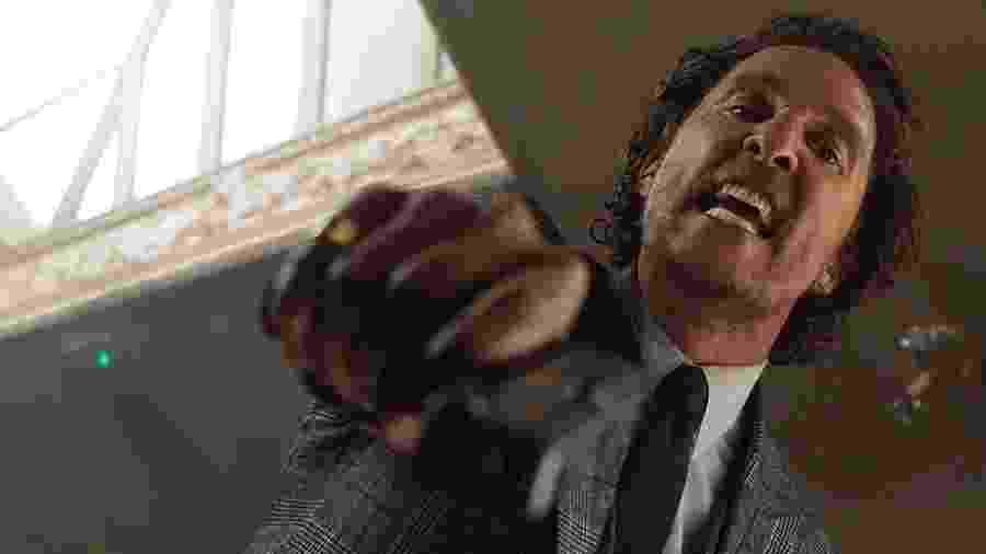 """Matthew McConaughey, em """"Magnatas do Crime"""", está nos cinemas e poderá ser visto nos canais Telecine - Reprodução"""