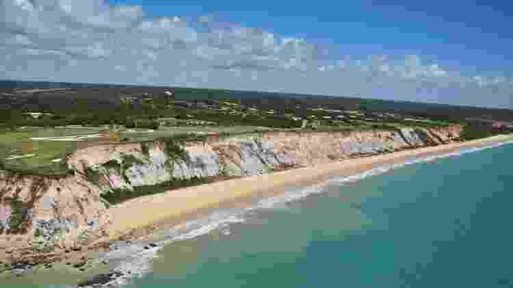 Praia de Taípe - Arraial d'Ajuda (BA) - Divulgação - Divulgação