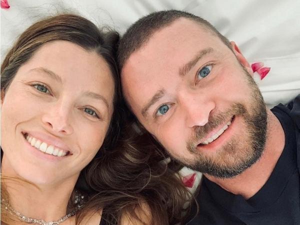 Justin Timberlake e Jessica Biel também são pais de Silas