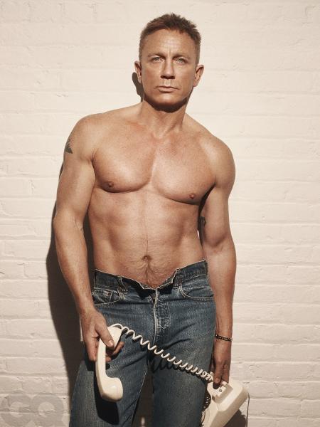 Daniel Craig posa para a GQ - Reprodução