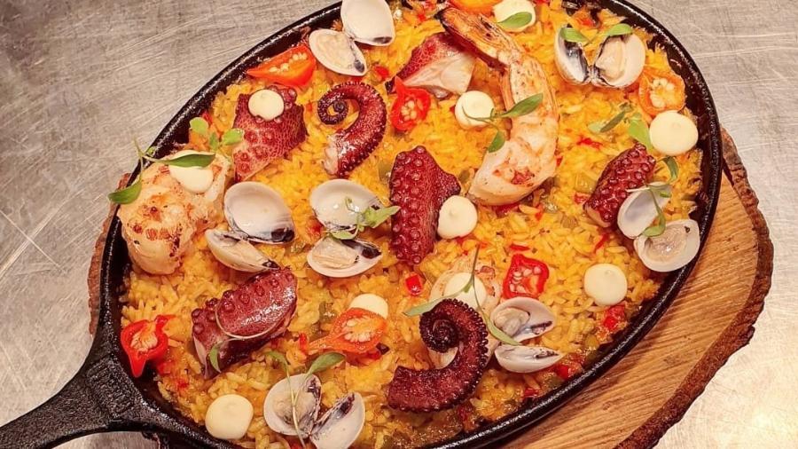 Paella de moqueca, de Victor Dimitrow - Reprodução/Instagram